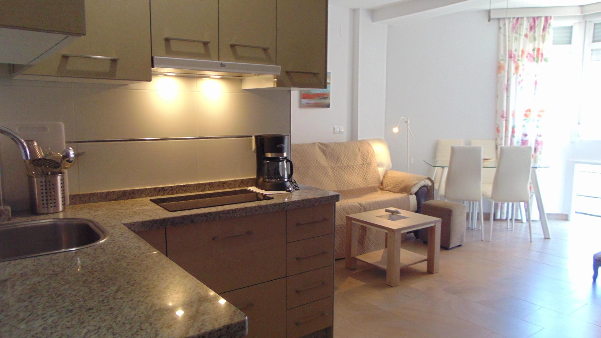 Apartment -                                       Torre Del Mar -                                       0 bedrooms -                                       2 persons
